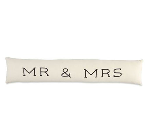 Mr & Mrs Skinny Pillow