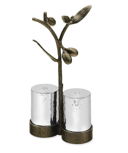 Olive Branch Salt & Pepper Set
