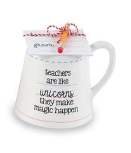Teacher Mug- Unicorn