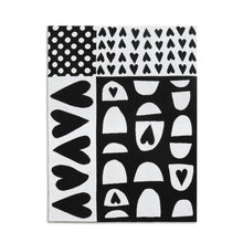 Load image into Gallery viewer, Black & White Woven Blanket
