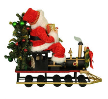 Load image into Gallery viewer, Lt. Merry Christmas Train Santa