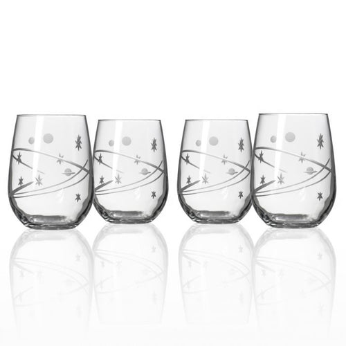 Space Stemless Wine Tumbler Set