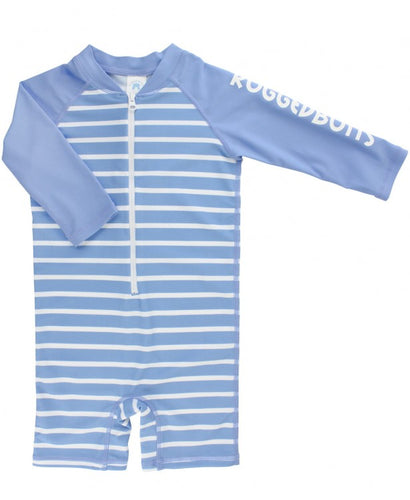 Stripe One Piece Rash Guard