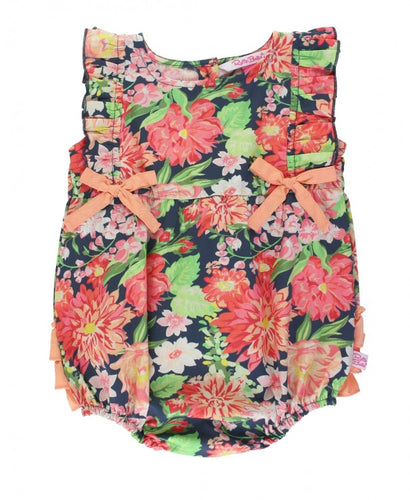 Sunset Garden Romper