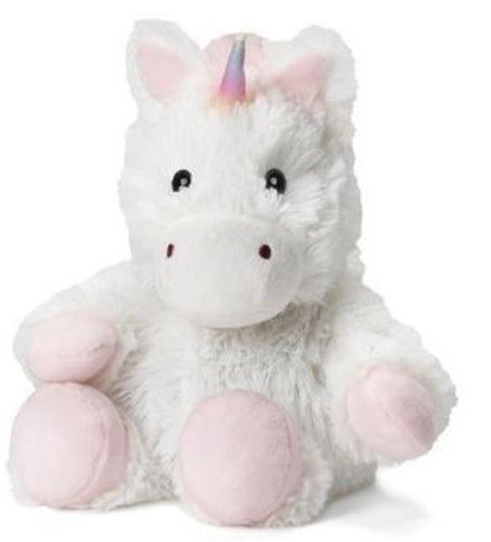 White Unicorn Junior Warmies