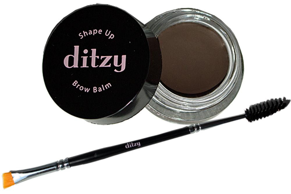 Shape Up Brow Balm - An All-in-One brow definer to sculpt and fill for natural looking brows.  In Deep Brunette color