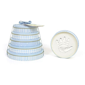 Child To Cherish Tower of Time Handprint Kit-Blue - I'm a Gift-Basket Case!