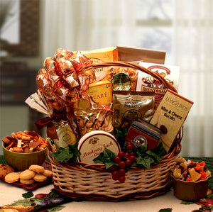 Bountiful Favorites Gourmet Gift Basket - I'm a Gift-Basket Case!