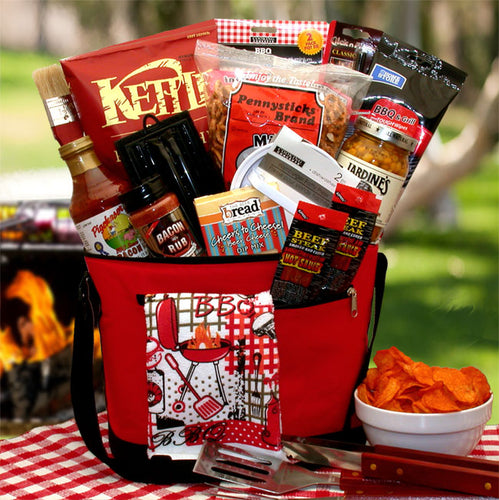 The Master Griller BBQ Gift Chest - I'm a Gift-Basket Case!