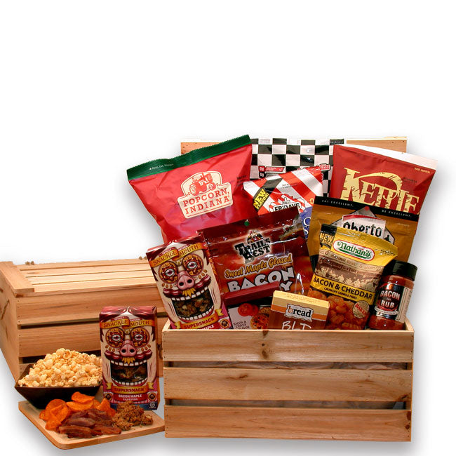 The Baconator Gift Crate - I'm a Gift-Basket Case!