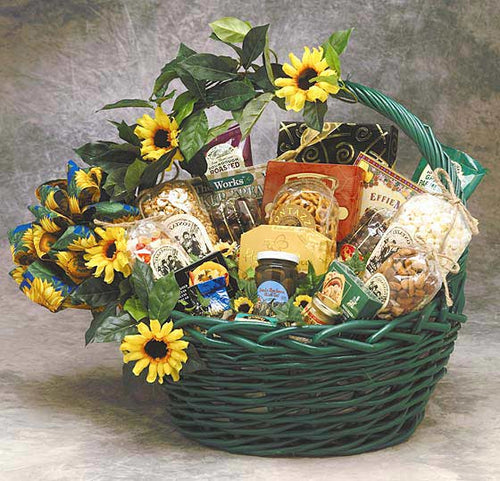 Sunflower Treats (Medium) - I'm a Gift-Basket Case!