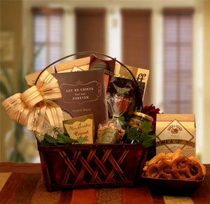 A Time To Grieve Sympathy Gift Basket - I'm a Gift-Basket Case!