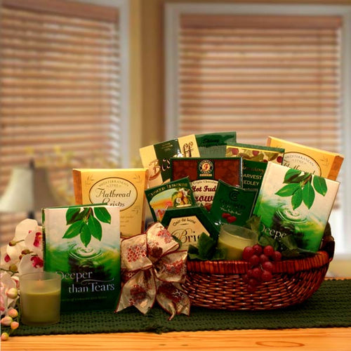 Deeper Than Tears Condolence Gift Basket - I'm a Gift-Basket Case!