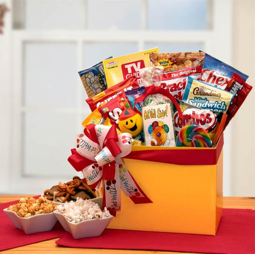 Get Well Wishes Gift Box - I'm a Gift-Basket Case!