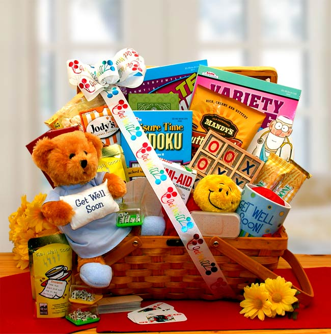 Get Well Soon My Friend Get Well Hamper - I'm a Gift-Basket Case!