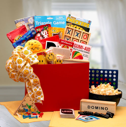 A Smile A Day Get Well Gift Box - I'm a Gift-Basket Case!