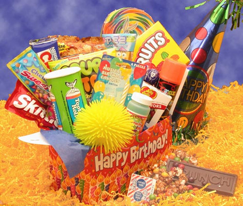 Deluxe Happy Birthday Care Package - I'm a Gift-Basket Case!