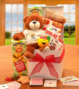 A Touch of Get Well Soon Sunshine Care Package - I'm a Gift-Basket Case!