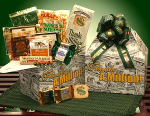 Thanks A Million  Deluxe Care Package - I'm a Gift-Basket Case!
