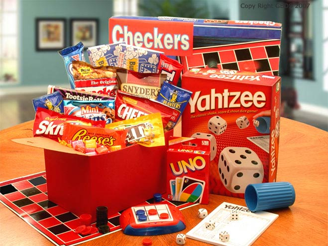 Its Game Time' Boredom & Stress Relief Gift Set - Large - I'm a Gift-Basket Case!