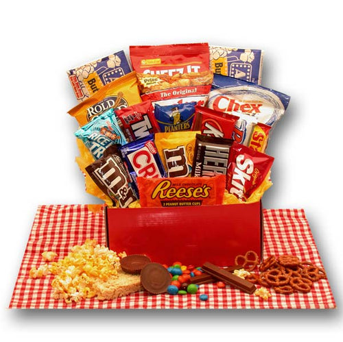 All American Favorites Snack Care Package - I'm a Gift-Basket Case!