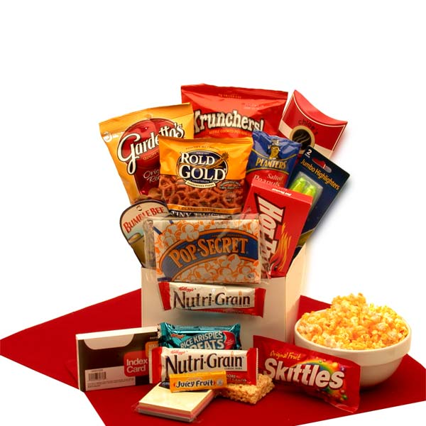 Study Snacks Care Package - I'm a Gift-Basket Case!
