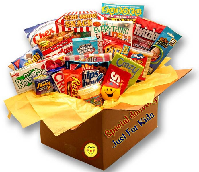 Kids Blast Deluxe Activity Care Package - I'm a Gift-Basket Case!