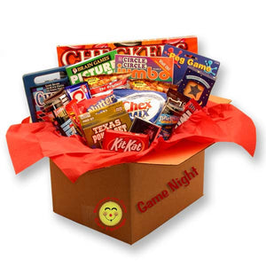 It's a Family Game Night Care Package - I'm a Gift-Basket Case!