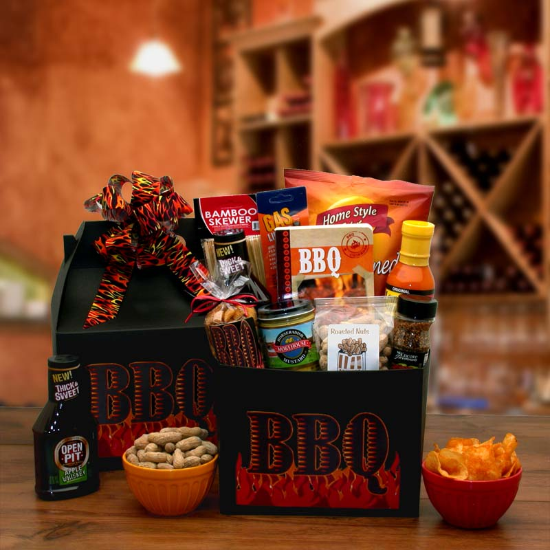 The Barbecue Master Care Package - I'm a Gift-Basket Case!
