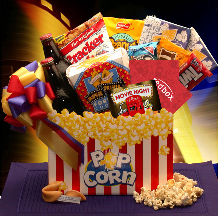 Movie Night Mania Blockbuster Gift Box - I'm a Gift-Basket Case!
