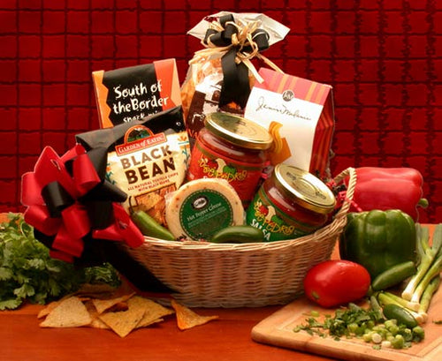 Lets Spice it up! Salsa Gift Basket - I'm a Gift-Basket Case!