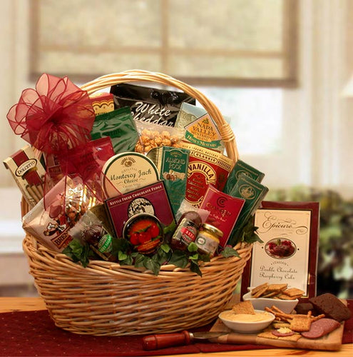 Snack Attack Gift Basket - Medium - I'm a Gift-Basket Case!