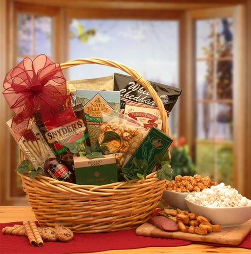 Snack Attack Gift Basket - Small - I'm a Gift-Basket Case!