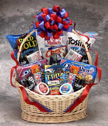 Coke Snack Works Gift Basket (Large) - I'm a Gift-Basket Case!