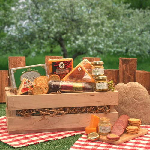 Signature Sausage & Cheese Crate - I'm a Gift-Basket Case!
