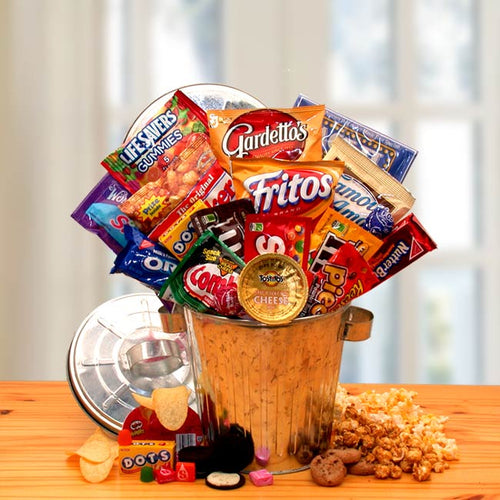 Snack Survival Gift Can - I'm a Gift-Basket Case!