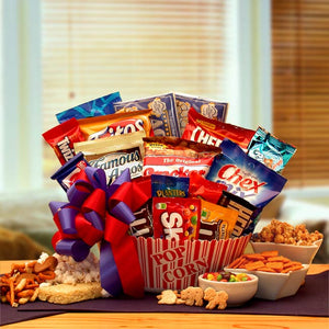 Snack Time Favorites Gift Basket - I'm a Gift-Basket Case!