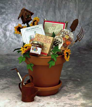 Sunflowers For You - I'm a Gift-Basket Case!