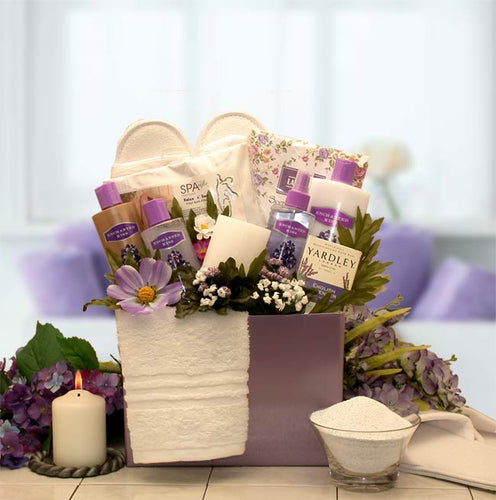 Spa Inspirations Bath & Body Gift Box - I'm a Gift-Basket Case!