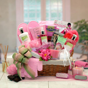Sweet Blooms Spa Gift Basket - I'm a Gift-Basket Case!