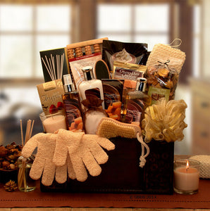 Caramel Spa Treasures Gift Chest - I'm a Gift-Basket Case!