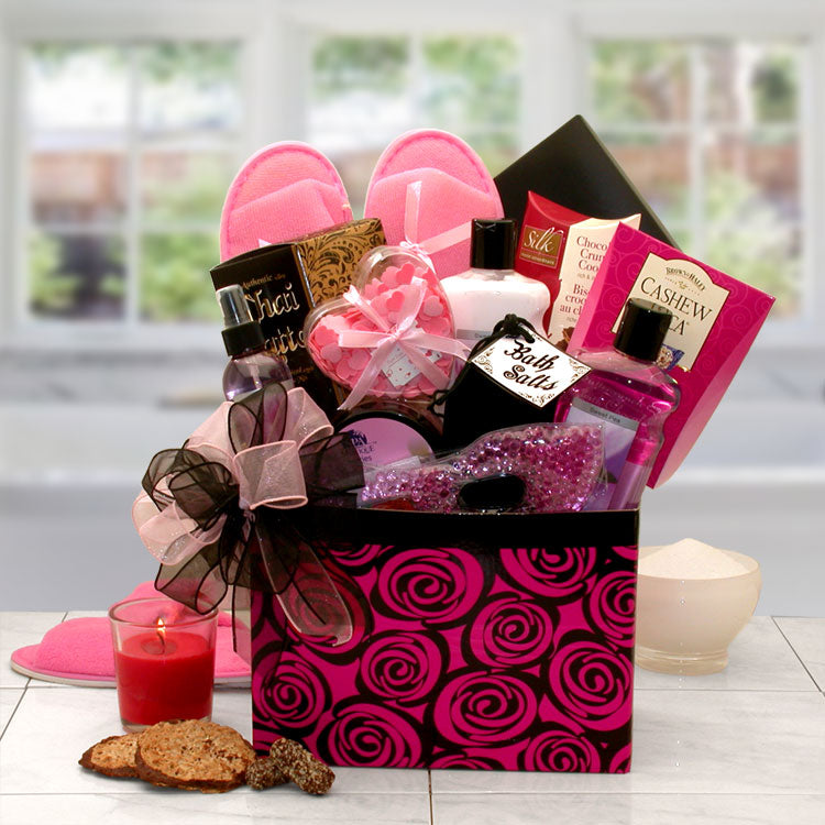 A Spa Day Getaway Gift Box - I'm a Gift-Basket Case!
