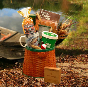 The Fisherman's Fishing Creel - Medium - I'm a Gift-Basket Case!