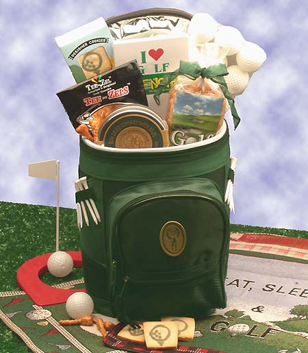 Golfing Around Golf Sports bag - I'm a Gift-Basket Case!