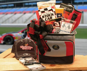 And The Race Is On Nascar Lovers Gift Chest - Large - I'm a Gift-Basket Case!