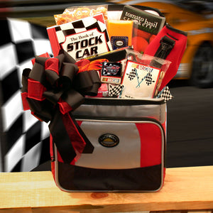 And The Race Is On Nascar Lovers Gift Chest - Medium - I'm a Gift-Basket Case!