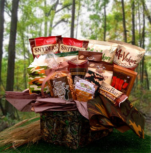Camo Man Care Package - I'm a Gift-Basket Case!