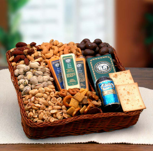 Snackers Delight Nut & Snack Tray - I'm a Gift-Basket Case!