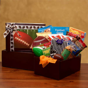 Football Fan Gift Pack - I'm a Gift-Basket Case!