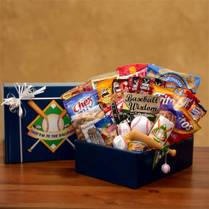 Take Em To The Ballpark Baseball Gift Pack - I'm a Gift-Basket Case!